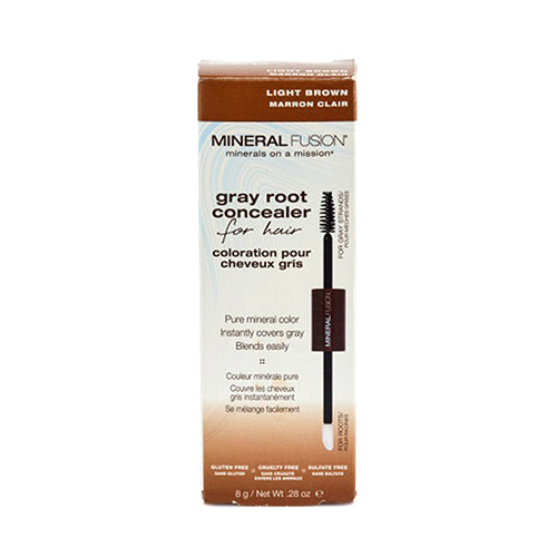 Mineral Fusion Gray Root Concealer, Light Brown