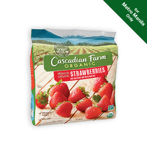 Frozen Cascadian Farms Organic Strawberries 284g