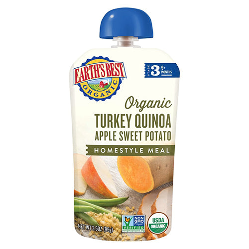 Earth's Best Organic Turkey Quinoa Apple Sweet Potato 99g