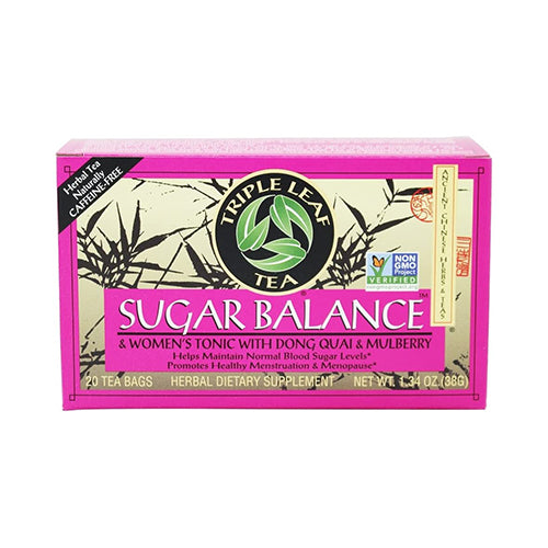 Triple Leaf Tea Sugar Balance Women's Tonic 20 tea bags