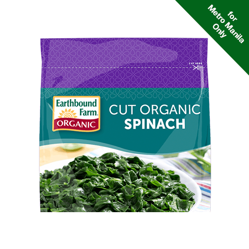 Frozen Earthbound Farm Organic Spinach 227g