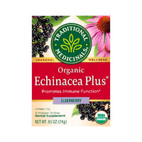 Traditional Medicinals Organic Echinacea Plus Elderberry 16 tea bags