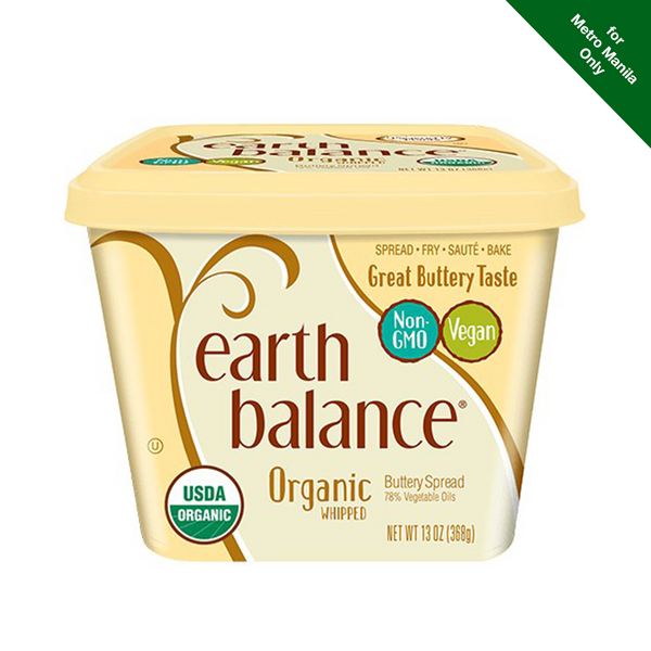 Chilled Earth Balance Natural Buttery Spread Whipped 368g