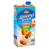Almond Breeze Unsweetened Original Almond Milk 946ml