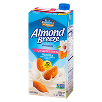 Almond Breeze Unsweetened Vanilla Almond Milk 946ml
