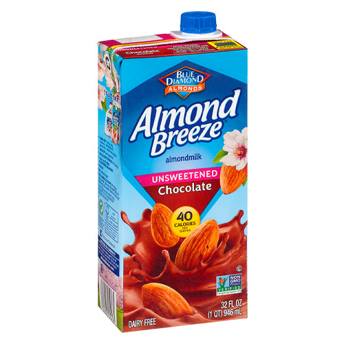 Almond Breeze Unsweetened Chocolate Almond Milk 946ml