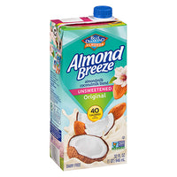 Almond Breeze Unsweetened Original Almond Coconut Blend 946ml