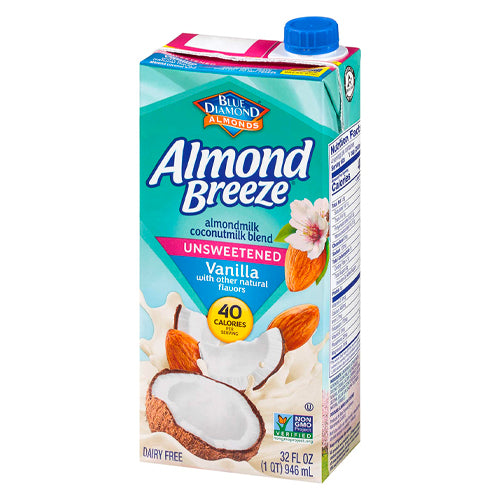 Almond Breeze Unsweetened Vanilla Almond Coconut Blend 946ml
