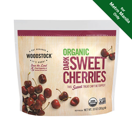 Frozen Woodstock Organic Dark Sweet Cherries 283g