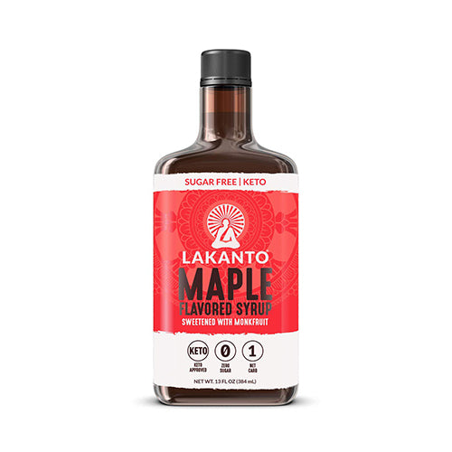 Lakanto Monkfruit Maple Flavored Syrup 384mL
