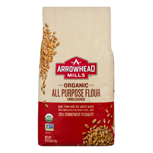 Arrowhead Organic Unbleached All Purpose Flour 2.27kg