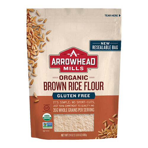 Arrowhead Organic Gluten Free Brown Rice Flour 680g