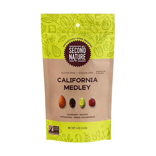 Second Nature California Medley Trail Mix 141g