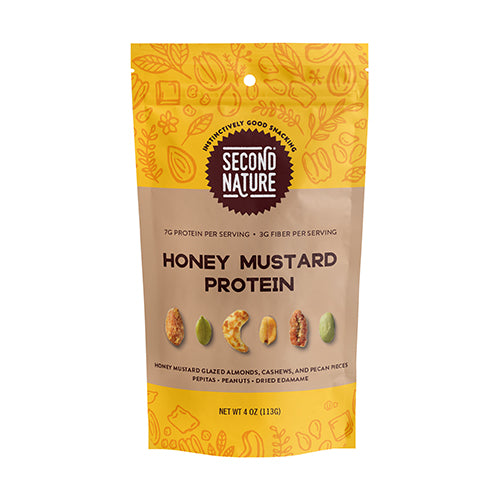 Second Nature Honey Mustard Protein Trail Mix 113g