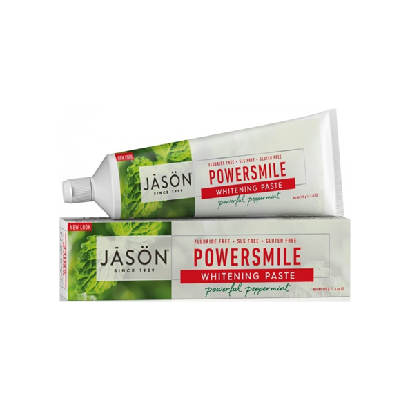 JASON Powerful Peppermint Powersmile Toothpaste 170g