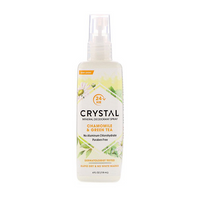 Crystal Body Chamomile & Green Tea Mineral Spray Deodorant 118ml