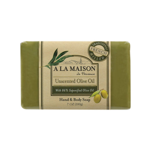 A La Maison de Provence Unscented Olive Oil Hand & Body Soap 200g