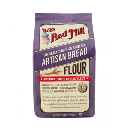 Bob's Red Mill Unbleached Artisan Bread Flour 2.27kg