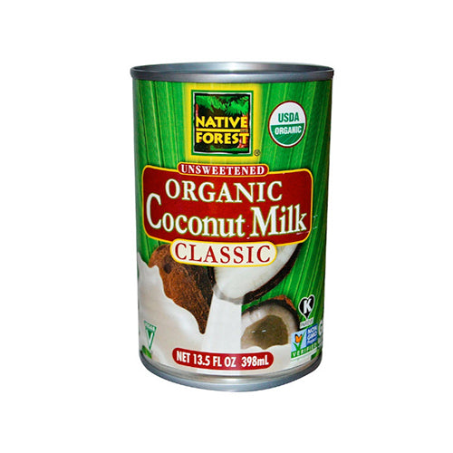 Native Forest Organic Unsweetened Coconut Milk Classic 398ml