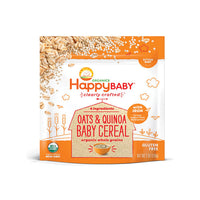 Happy Baby Organic Clearly Crafted Oats & Quinoa Baby Cereal 198g