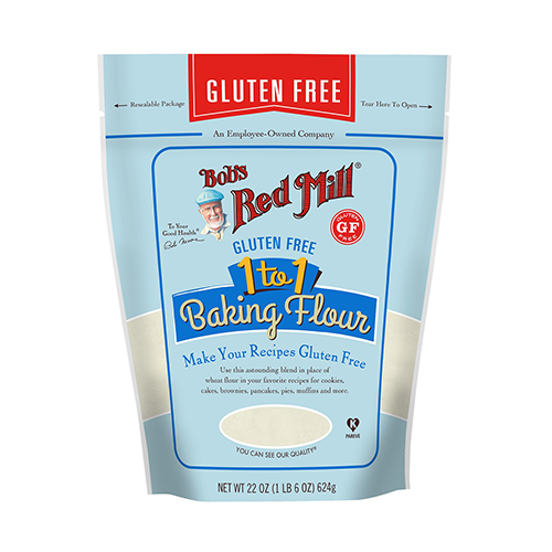 Bob's Red Mill Gluten Free 1 to 1 Baking Flour 624g