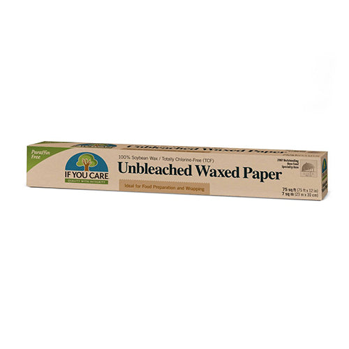 If You Care Unbleached Waxed Paper 75ft