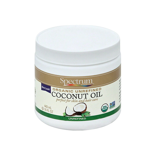 Spectrum Organic Unrefined Coconut Oil 443ml