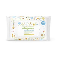 Babyganic Face, Hand & Baby Wipes