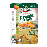 Brothers All Natural Freeze Dried Peach Fruit Crisps 8g