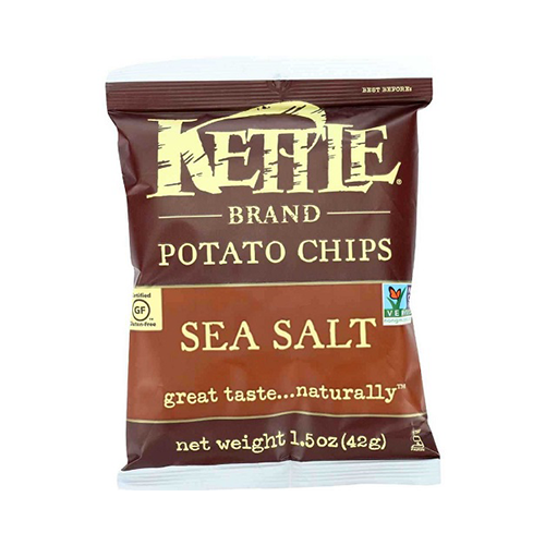 Kettle Sea Salt Potato Chips 42g