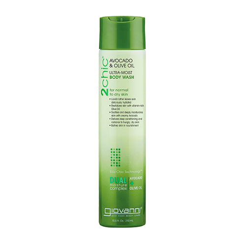 Giovanni Avocado & Olive Oil Ultra-Moist Body Wash 310ml