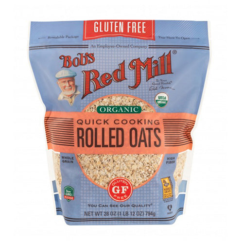 Bob's Red Mill Organic Gluten-Free Quick Cooking Rolled Oats 794g