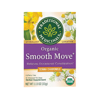 Traditional Medicinals Organic Smooth Move Chamomile 16 tea bags