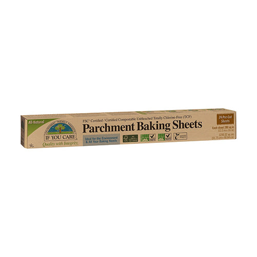 If You Care Parchment Baking Sheets 24 Pre-Cut Sheets