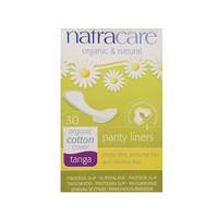 Natracare Panty Liners Thongs 30 Liners