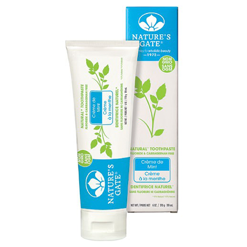 Natures Gate Natural Toothpaste Crème de Mint 170g