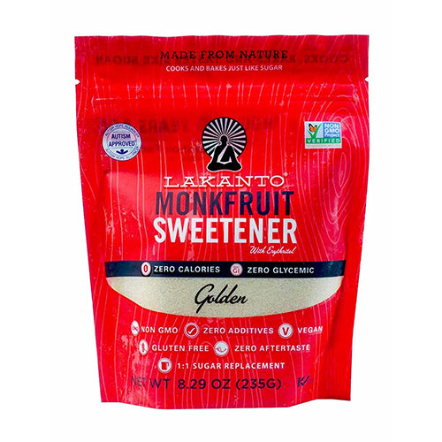 Lakanto Monkfruit Sweetener Golden 235g