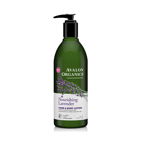 Avalon Organics Nourishing Lavender Hand & Body Lotion 340g