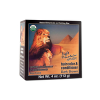 Light Mountain Organic Henna Hair Color Dark Brown 113g