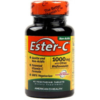 American Health Ester-C® 1,000mg with Citrus Bioflavonoids 45 Vegetarian Tablets