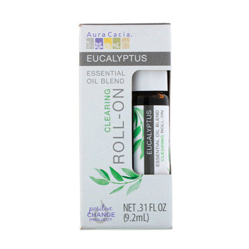 Aura Cacia Eucalyptus Essential Oil Blend Roll-on 9.2ml
