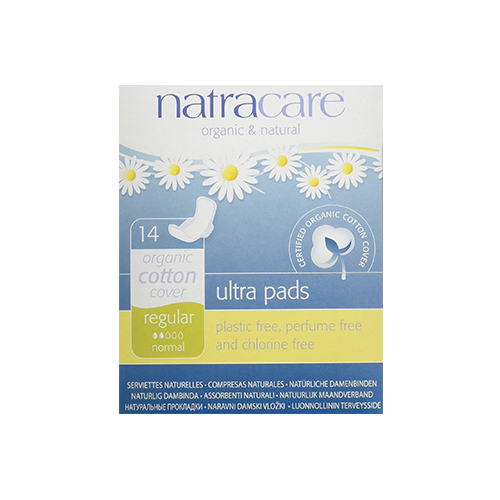 Natracare Ultra Pads Regular Flow 14 Pads