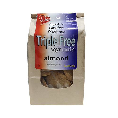 St. Amour Triples Vegan Cookies Almond 155g