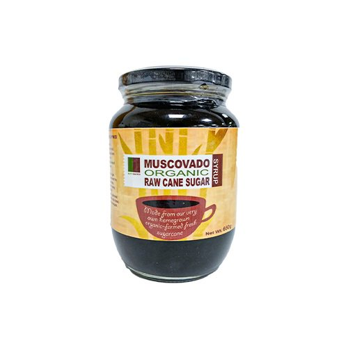 Raw Brown Organic Muscovado Sugar (Syrup) 600grams