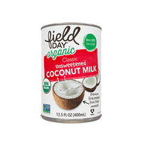 Field Day Organic Classic Unsweetened Coconut Milk 400ml