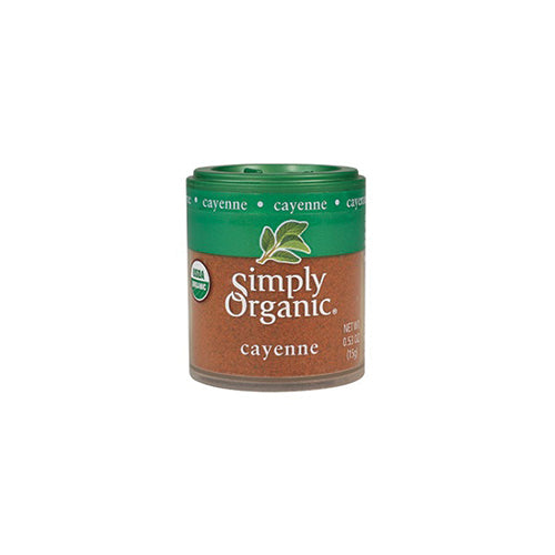 Simply Organic Mini Cayenne Pepper 15g