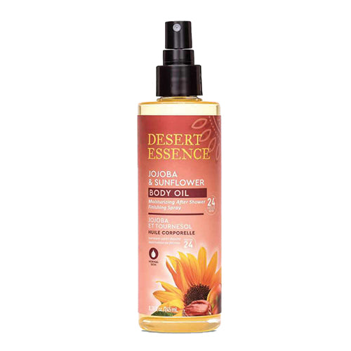 Desert Essence Jojoba & Sunflower Body Oil Spray 245ml