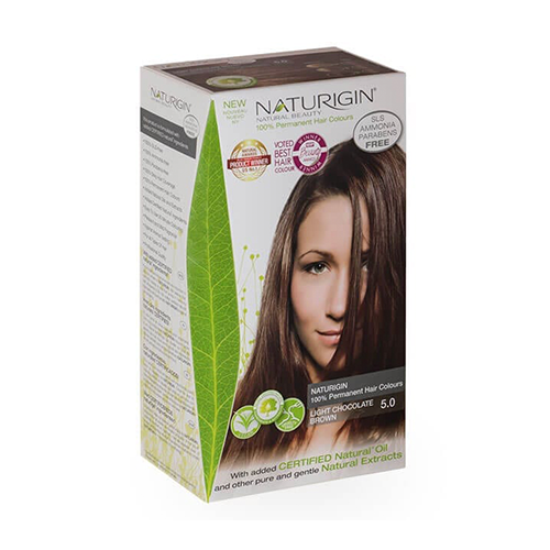 Naturigin Hair Colour 5.0 Light Chocolate Brown 110g