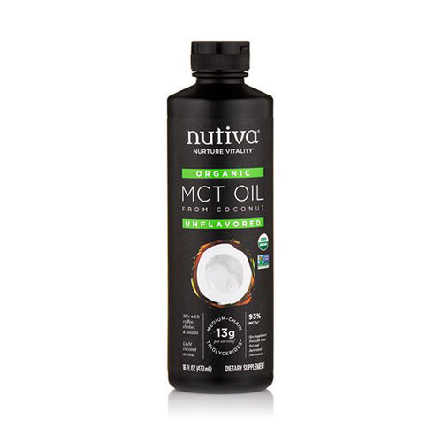 Nutiva Organic MCT Oil 473ml