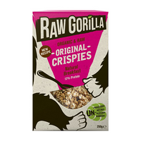 Raw Gorilla Organic & Sprouted Raw Original Crispies 250g